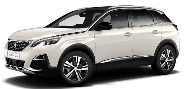 peugeot 3008 gt line espagne 1 6 puretech 180 cv stop and start eat8